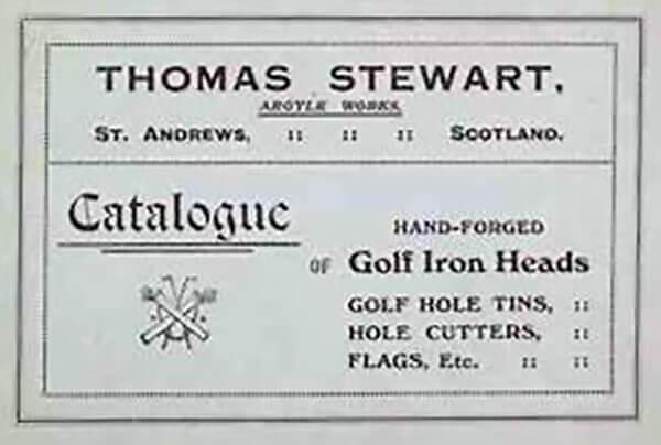 トム スチュワート ・クラブメーカーとカップメーカ